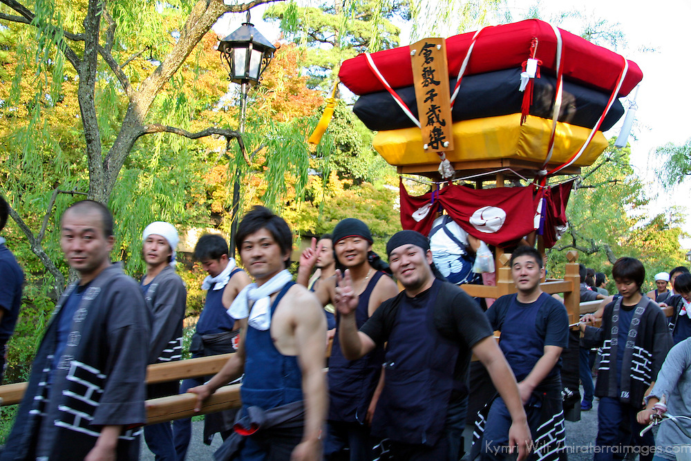 Asia, Japan, Kurashiki. An October Fall Festival in Kurashiki.