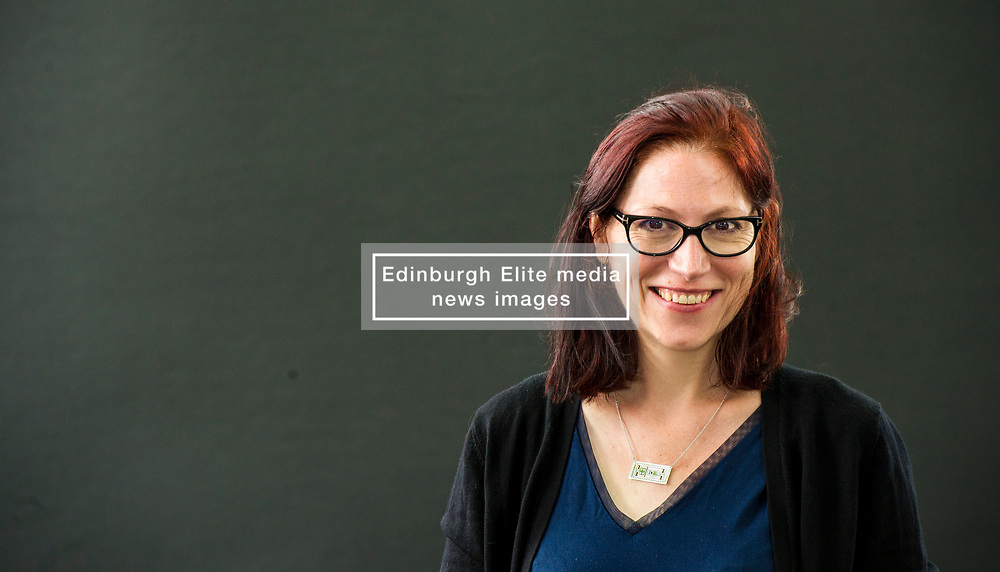 Pictured:Natalie Louise Haynes<br /> <br /> Natalie Louise Haynes is an English writer and broadcaster and a former comedian. She attended King Edward VI High School for Girls, Birmingham then read Classics at Christ's College, Cambridge<br /> <br /> <br /> <br /> <br /> Book fanatics headed to Charlotte Square in Edinburgh which is the hub of the international Book Festival to meet the authors and also to meet up with fellow fans of the printed word.<br /> <br /> 27 August 2017
