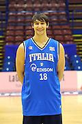 12-03-2011 MILANO ALL STAR GAME 2011 NAZIONALE ITALIANA<br /> IN FOTO: RICCARDO MORASCHINI<br /> FOTO CIAMILLO