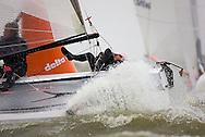 08_004213 © Sander van der Borch. Medemblik - The Netherlands,  May 25th 2008 . Final day of the Delta Lloyd Regatta 2008.