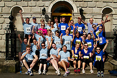 Calcutta Run charity Law Society Ireland and A&L Goodbody Solicitors. Dublin Ireland.