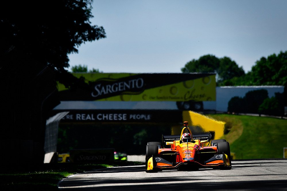 Zach Veach, Andretti Autosport Honda<br /> Saturday 23 June 2018<br /> KOHLER Grand Prix at Road America<br /> Verizon IndyCar Series<br /> Road America WI USA<br /> World Copyright: Scott R LePage