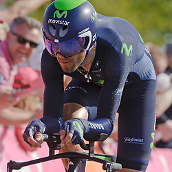 06-05-2016: Wielrennen: Giro: Apeldoorn: Individuele tijdrit: Proloog<br /> Alejandro Valverde (team Movistar)