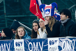 Fans during Flying Hill Individual at 2nd day of FIS Ski Jumping World Cup Finals Planica 2012, on March 16, 2012, Planica, Slovenia. (Photo by Matic Klansek Velej / Sportida.com)