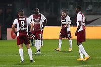 Deception Metz - Guirane N'DAW - 17.01.2015 - Metz / Montpellier - 21eme journee de Ligue 1<br />Photo : Fred Marvaux / Icon Sport