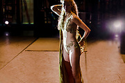 Genève, novembre 2018. Rencontre avec Abu Lagraa, chorégraphe de la nouvelle création du Ballet du Grand Théâtre, Wahada. Danseuse en préparation. © Olivier Vogelsang