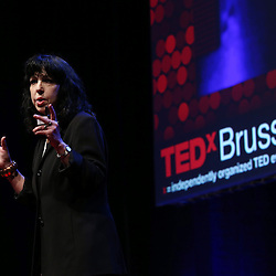 Session I - 28 October 2013<br /> <br /> Diana Reiss , Professor of Psychology at  Hunter College<br /> <br /> TEDX BRUSSELS 2013 - Belgium - Brussels - October 2013 &copy; TEDx Brussels/Scorpix