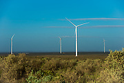 Landscape of the Sere Wind Farm
