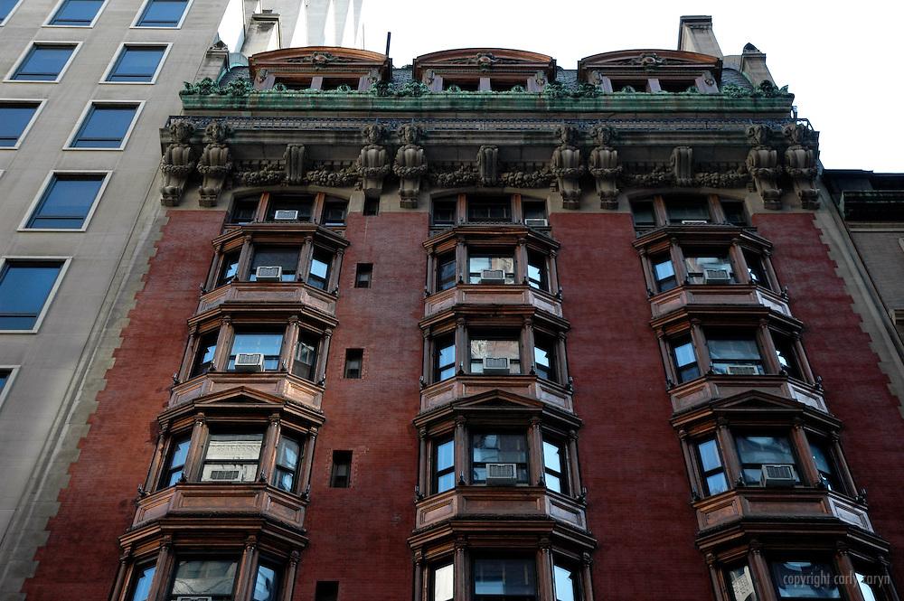 44th St building facade