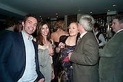 ELLIOT MACDONALD; WHITNEY HINTZ; POLLY MORGAN, Polly Morgan 30th birthday. The Ivy Club. London. 20 January 2010