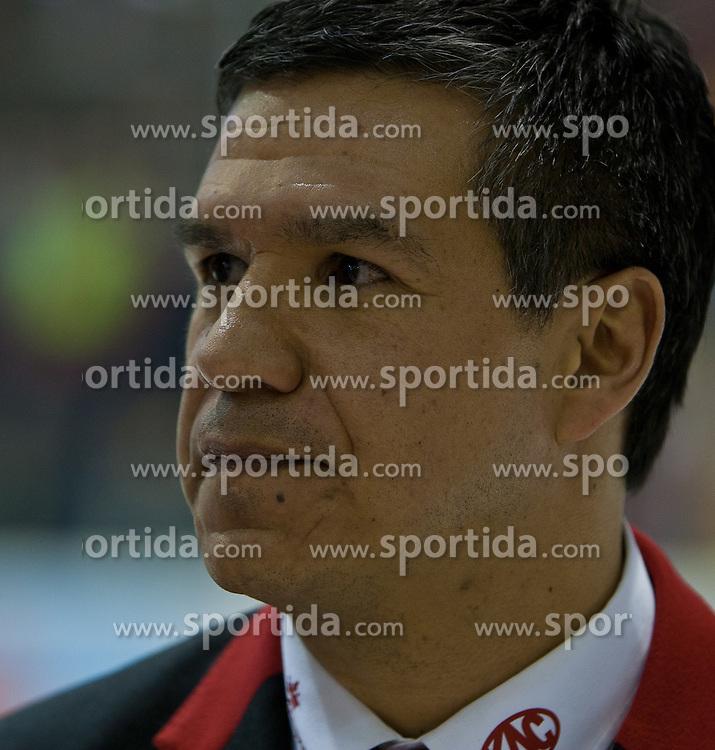 24.03.2011, Stadthalle, Klagenfurt, AUT, EBEL, EC KAC vs EC VSV, im Bild Mike Stewart (VSV Head Coach) , EXPA Pictures © 2011, PhotoCredit: EXPA/ G. Steinthaler