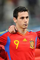FOOTBALL - UNDER 21 - FRIENDLY GAME - FRANCE v SPAIN - 24/03/2011 - PHOTO GUILLAUME RAMON / DPPI - ALVARO VAZQUEZ (SPA)