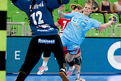 Neli Irman of Slovenia during handball match between Women National Teams of Slovenia and Czech Republic of 4th Round of EURO 2012 Qualifications, on March 25, 2012, in Arena Stozice, Ljubljana, Slovenia. (Photo by Urban Urbanc / Sportida.com)