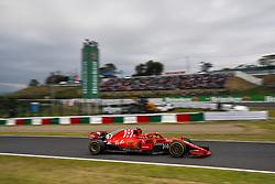 October 5, 2018 - Suzuka, Japan - Motorsports: FIA Formula One World Championship 2018, Grand Prix of Japan, .World Championship 2018 Grand Prix Japan#7 Kimi Raikkonen (FIN, Scuderia Ferrari) (Credit Image: © Hoch Zwei via ZUMA Wire)