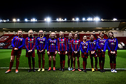 Mascots prior to kick off - Mandatory by-line: Ryan Hiscott/JMP - 17/02/2020 - FOOTBALL - Ashton Gate Stadium - Bristol, England - Bristol City Women v Everton Women - Women's FA Cup fifth round