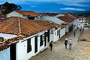 Colombia, Villa de Leyva, Andes Mountain Town, Spanish Colonial, Declared A National Monument in 1954, South America
