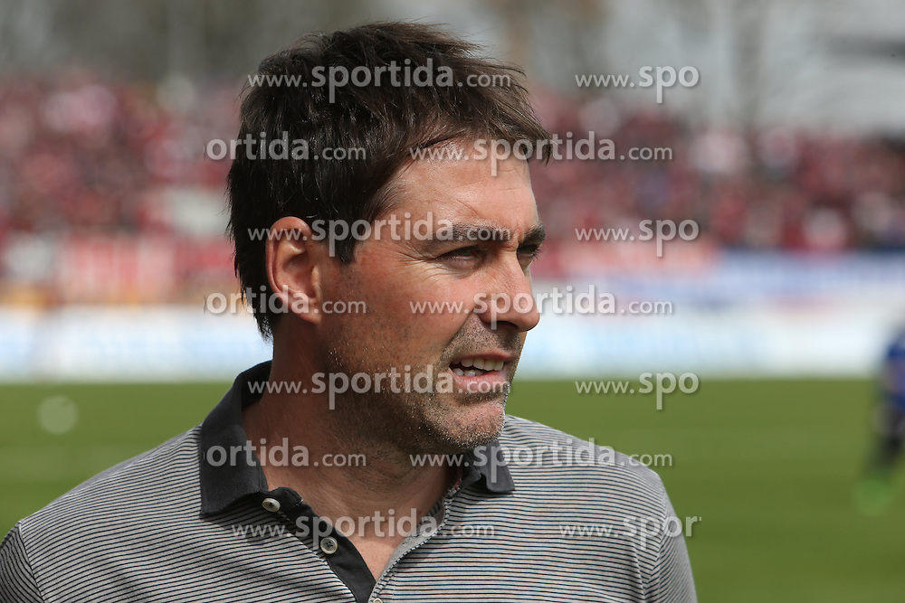 03.04.2016, Volksbank Stadion, Frankfurt, GER, 2. FBL, FSV Frankfurt vs 1. FC Nuernberg, 28. Runde, im Bild Trainer Rene Weiler (Nuernberg), Portrait // during the 2nd German Bundesliga 28th round match between FSV Frankfurt and 1. FC Nuernberg at the Volksbank Stadion in Frankfurt, Germany on 2016/04/03. EXPA Pictures &copy; 2016, PhotoCredit: EXPA/ Eibner-Pressefoto/ RRZ<br /> <br /> *****ATTENTION - OUT of GER*****