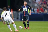Marco Verratti - 30.05.2015 - Auxerre / Paris Saint Germain - Finale Coupe de France<br />Photo : Andre Ferreira / Icon Sport