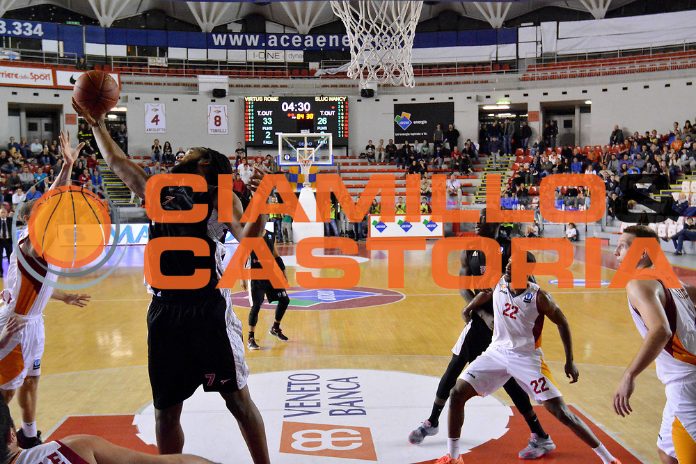 DESCRIZIONE : Eurolega Euroleague 2014/15 Acea Virtus Roma Vs Sluc Nancy<br /> GIOCATORE : Randal Falker<br /> CATEGORIA : rimbalzo<br /> SQUADRA : Acea Virtus Roma Vs Sluc Nancy<br /> EVENTO : Eurolega Euroleague 2014/2015<br /> GARA : Acea Virtus Roma Vs Sluc Nancy<br /> DATA : 22/10/2014<br /> SPORT : Pallacanestro <br /> AUTORE : Agenzia Ciamillo-Castoria / M.Greco<br /> Galleria : Eurolega Euroleague 2014/2015<br /> Fotonotizia : Eurolega Euroleague 2014/15 Acea Virtus Roma Vs Sluc Nancy<br /> Predefinita :