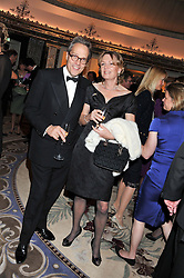 The EARL OF MARCH and LADY LLOYD WEBBER at the 21st Cartier Racing Awards held at The Dorchester, Park Lane, London on 15th November 2011.