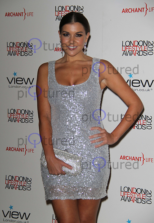 Imogen Thomas London Lifestyle Awards, Park Plaza Riverbank Hotel, London, UK, 07 October 2010: For piQtured Sales contact: Ian@Piqtured.com +44(0)791 626 2580 (picture by Richard Goldschmidt)