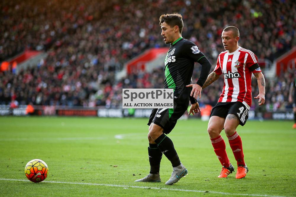 Bojan During Southampton vs Stoke City on Saturday the 21st November 2015.