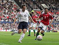 Photo: Paul Thomas.<br /> England v Hungary. International Friendly. 30/05/2006.<br /> <br /> Michael Owen of England.