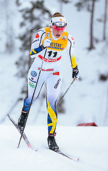 25.11.2017, Nordic Arena, Ruka, FIN, FIS Weltcup Langlauf, Nordic Opening, Kuusamo, im Bild Maria Nordstroem (SWE) // Maria Nordstroem of Sweden during the FIS Cross Country World Cup of the Nordic Opening at the Nordic Arena in Ruka, Finland on 2017/11/25. EXPA Pictures © 2017, PhotoCredit: EXPA/ JFK