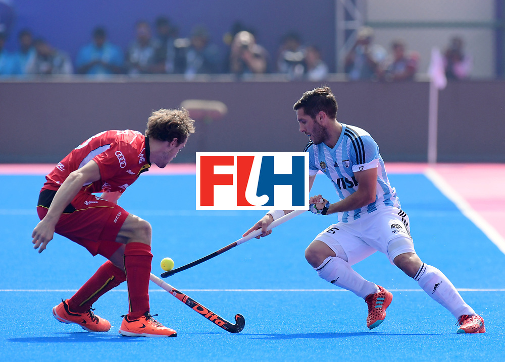 Odisha Men's Hockey World League Final Bhubaneswar 2017<br /> Match id:03<br /> Argentina v Belgium<br /> Foto: MAZZILLI Agustin<br /> WORLDSPORTPICS COPYRIGHT FRANK UIJLENBROEK
