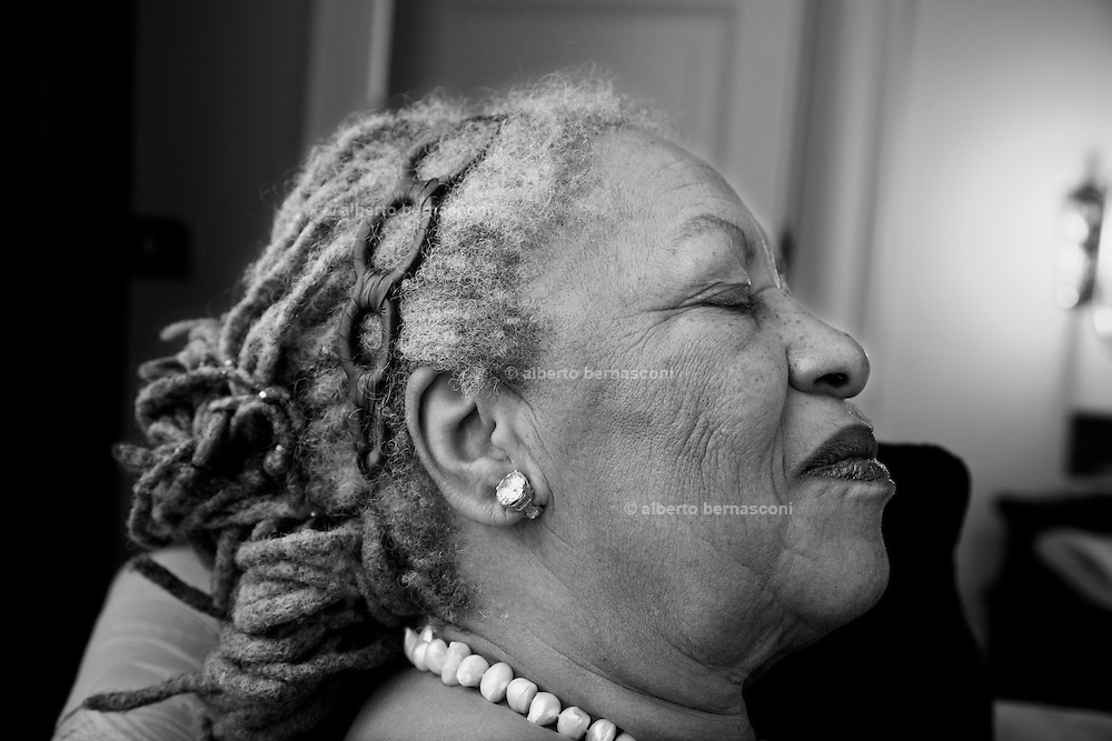 Milan , the afroamerican writer Toni MORRISON