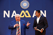 Farokh Engineer during the BCCI annual awards evening held at the Ritz Carlton Hotel in Bangalore, Karnartaka on the 8th March 2017. <br /> <br /> Photo by: Deepak Malik / BCCI/ SPORTZPICS