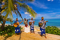 Musicians, Tokokiki Island Resort, Fiji Islands
