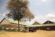 An external view of the Fistula clinic at Kitovu Hospital, Uganda.