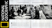 National Geographic / Thai Tattoo Tearsheet - Jean-Michel Clajot - Photojournalist