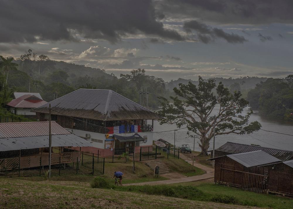 Camopi, Guyane, 2015.