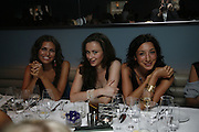 Dasha Zhukova, Camilla Al Fayad and Shakri Amirkhanova. Yasmin Mills book launch party ' How to Party', Harvey Nichols, London, SW1, 3 July 2006. <br />