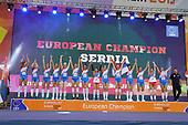 Cerimonia di Premiazione  - Europei 2017 pallavolo femminile