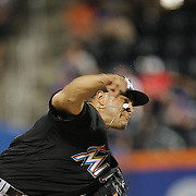NEW YORK, NEW YORK - July 05: Pitcher A.J. Ramos #44 of the Miami Marlins pitching during the Miami Marlins Vs New York Mets regular season MLB game at Citi Field on July 05, 2016 in New York City. (Photo by Tim Clayton/Corbis via Getty Images)