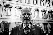 Massimo Gandolfini. Roma 25 febbraio 2016. Christian Mantuano / OneShot
