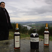 Three rare and collectable limited editions of The Macallan, ranging between £100 - £1500 per bottle have almost sold out within months of going on sale. <br />Pictured David Robertson, Macallan Master Blender<br />see press release by Edrington Distillers, contact David Robertson on 01738 493677 or Jackie Martin on 01738 493640<br /><br />Picture by Graeme Hart.<br />Copyright Perthshire Picture Agency<br />Tel: 01738 623350  Mobile: 07990 594431