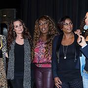 NLD/Amsterdam/20140415 - DVD presentatie Ladies of Soul, Candy Dulfer, Trijntje Oosterhuis, Berget Lewis, Edsilia Rombley en Glennis Grace, Humberto Tan