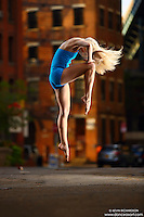 Dance As Art Photography Project- Dumbo Brooklyn, New York with dancer, Erika Citrin