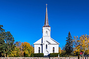 St Genevieve church, Shoreham, Vermont, USA.