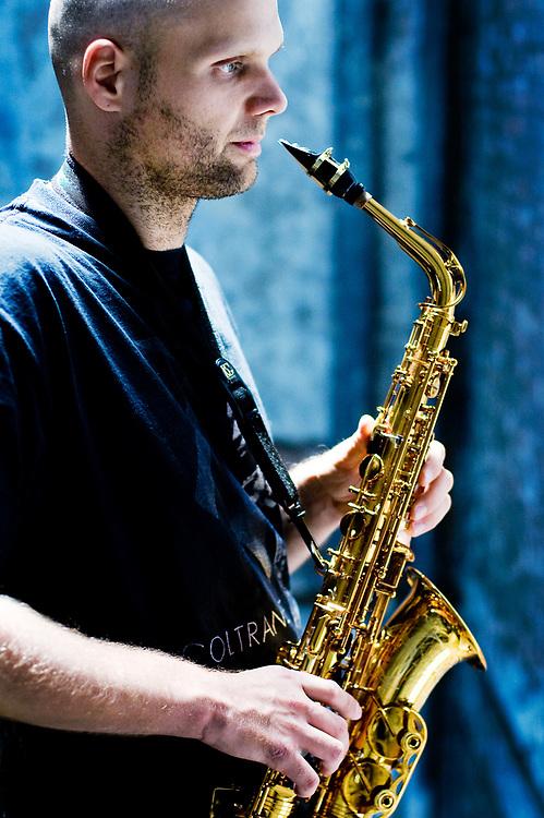 Ties Mellema . saxophonist . NYC