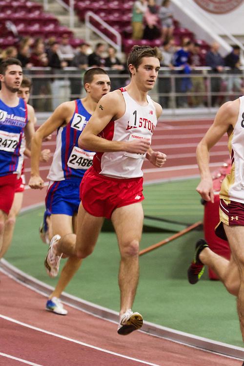 Boston University Multi-team indoor track & field, men 3000 meters, BU