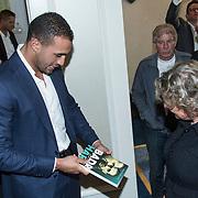 NLD/Amsterdam/20140422 - Boekpresentatie Badr Hari, Badr en zijn advocaten Marnix van der Werf en Benedicte Ficq