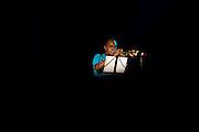 Presentación de Carlos Mendez en el festival verde de cultura musical realizado en la Ciudad del Saber. Panama, 11 de febrero de 2012. (Andres Rivera/ Istmophoto)