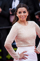 Actress Eva Longoria at the gala screening for Woody Allen's film Café Society at the 69th Cannes Film Festival, Wednesday 11th May 2016, Cannes, France. Photography: Doreen Kennedy