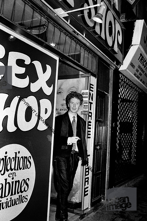 Malcolm McLaren - Paris - 1980 | urbanimage.tv
