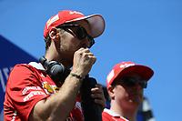 Barcellona - Gran Premio di Spagna - nella foto: Sebastian Vettel e Kimi Raikkonen - Ferrari  SF70H - Ferrari